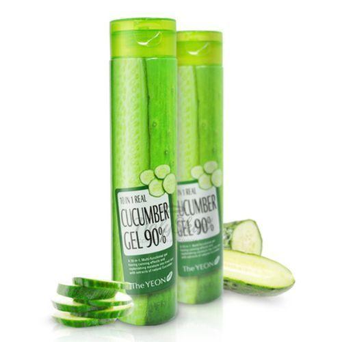Купить Многофункциональный гель с огурцом The Yeon, 10 in 1 Real Cucumber Gel 90%, Южная Корея