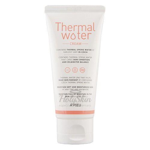 Купить Увлажняющий крем для лица с термальной водой A'Pieu, Thermal Water Cream, Южная Корея