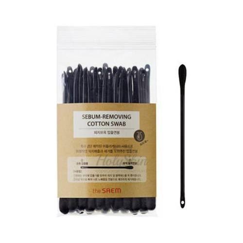 Ватные палочки для очищения The Saem — Saem Sebum-Removing Cotton Swab