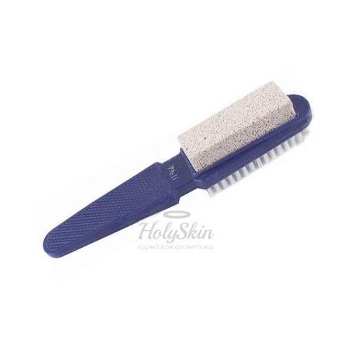 Пемза со щеткой на ручке для обработки стоп Zinger — Пемза со щеткой на ручке PA 11
