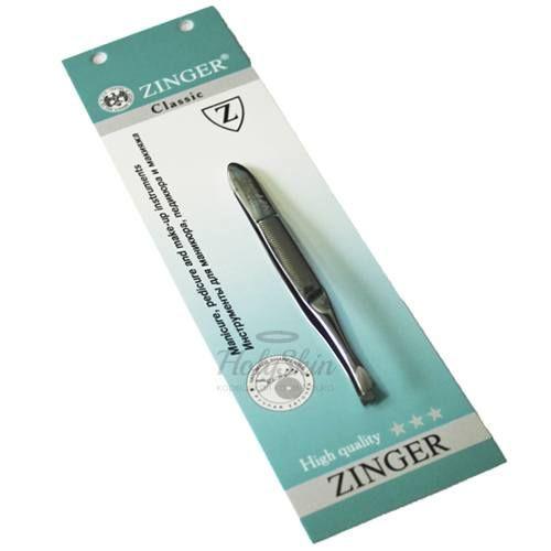 Купить Пинцет со скосом большой серебряный с ручной заточкой Zinger, Пинцет со скосом B 164 S SH Salon, Германия
