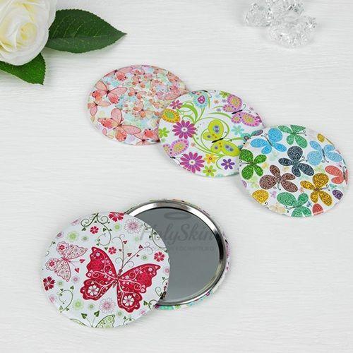 Купить Зеркало для макияжа цвета микс HS, HS Зеркало, Китай