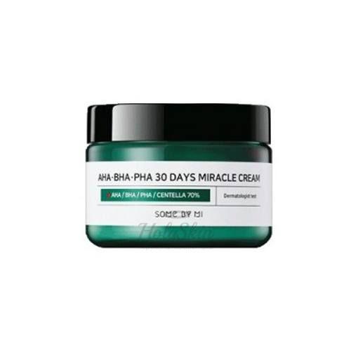 Купить Крем с кислотами для проблемной кожи Some By Mi, AHA BHA PHA 30 Days Miracle Cream, Южная Корея