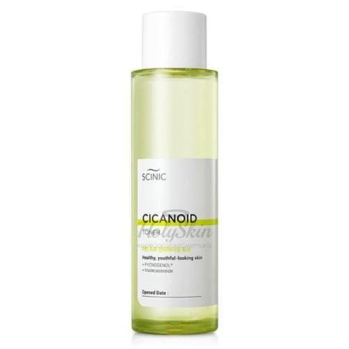 Антивозрастной тонер для зрелой и увядающей кожи Scinic — Cicanoid Toner