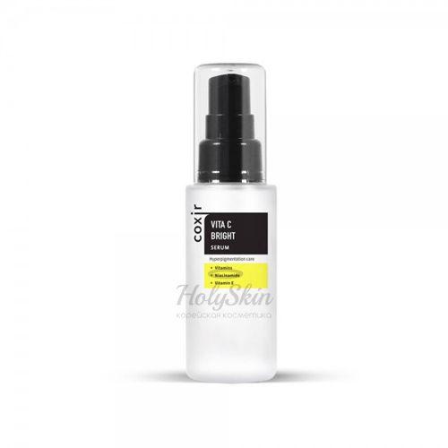 Сыворотка с витамином С для выравнивания тона кожи Coxir Vita C Bright Serum фото