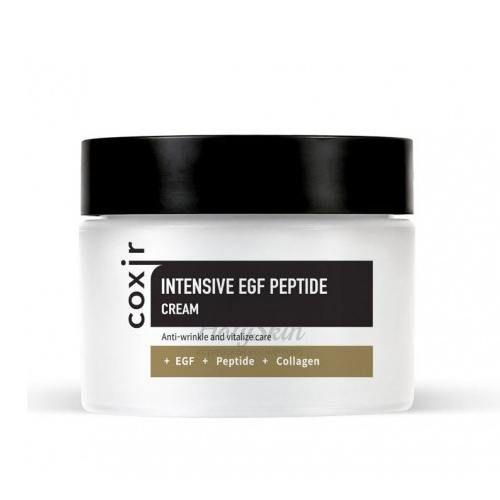 Купить Крем с пептидами и EGF для регенерации кожи Coxir, Intensive EGF Peptide Cream, Южная Корея