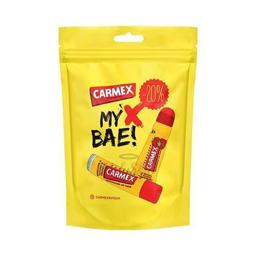 Набор бальзамов для губ с ароматом клубники Carmex