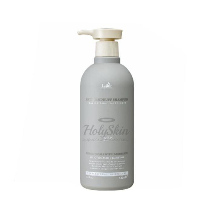 Шампунь против перхоти La'dor Anti Dandruff Shampoo фото