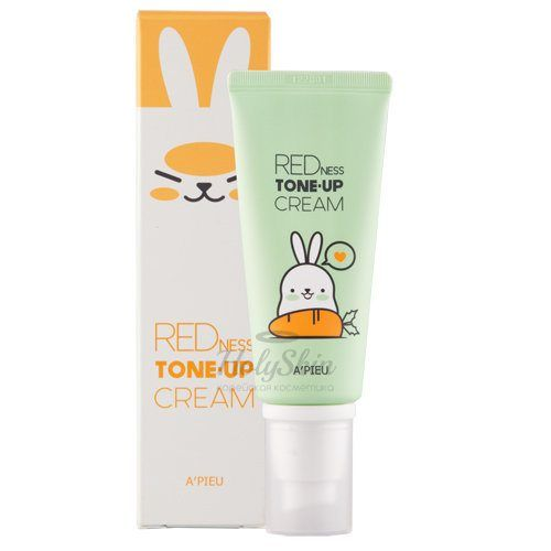 Увлажняющий крем против покраснений A'Pieu Redness Tone-Up Cream фото