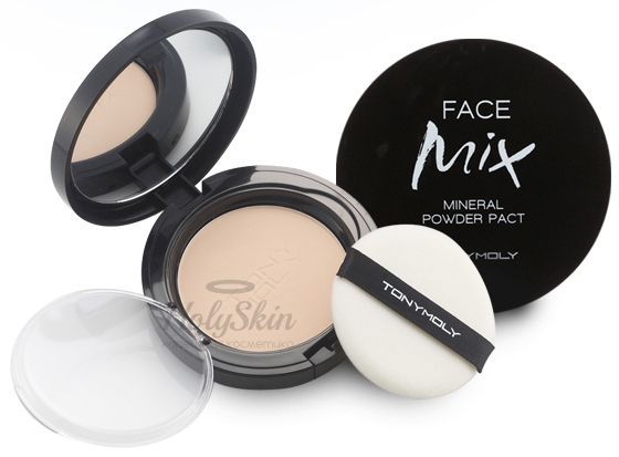 Face Mix Mineral Powder Pact Tony Moly отзывы