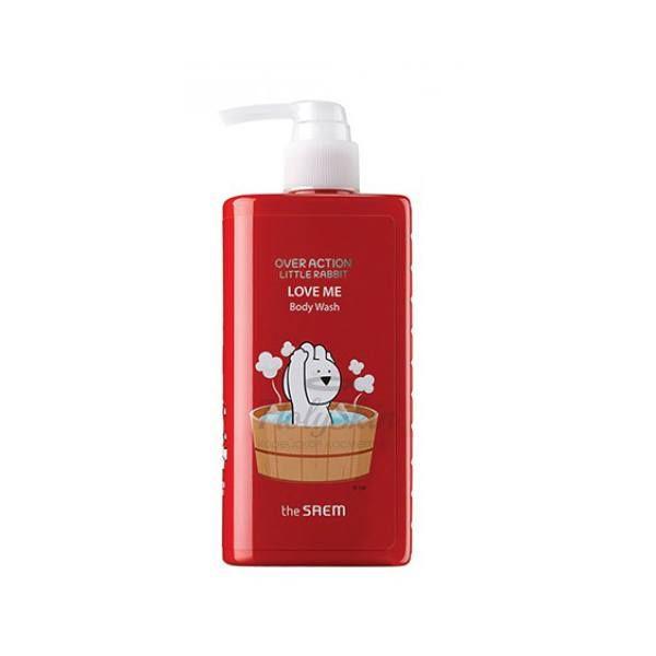 Купить Мягкий гель для душа с экстрактом инжира The Saem, Over Action Little Rabbit Love Me Body Wash, Южная Корея