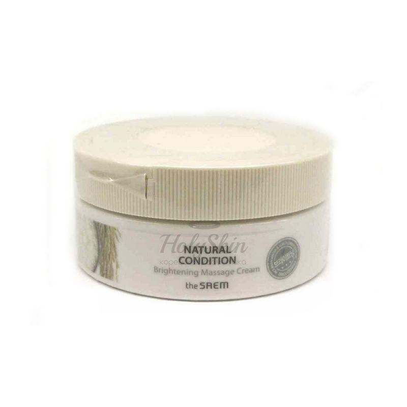 Купить Массажный крем для яркости кожи The Saem, Natural Condition Brightening Massage Cream, Южная Корея
