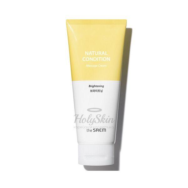Массажный крем для яркости кожи The Saem Natural Condition Brightening Massage Cream