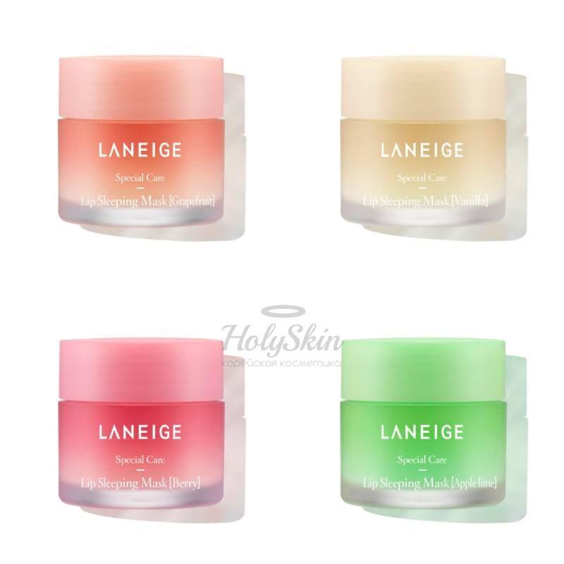 Купить Ночная маска для интенсивного питания и восстановления кожи губ LANEIGE, Lip Sleeping Mask, Южная Корея