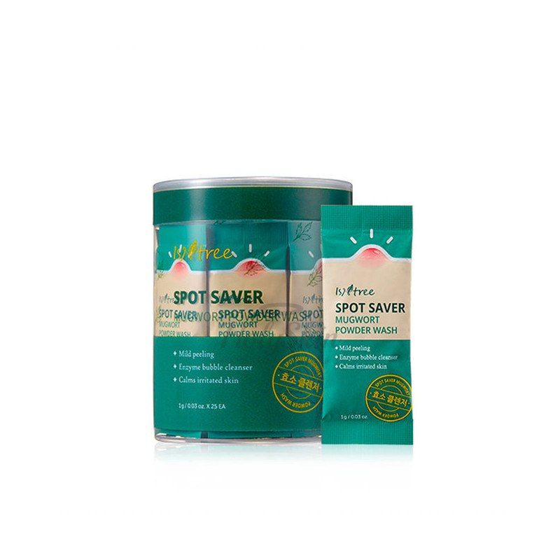 Энзимная пудра для умывания Spot Saver Mugwort Powder Wash фото