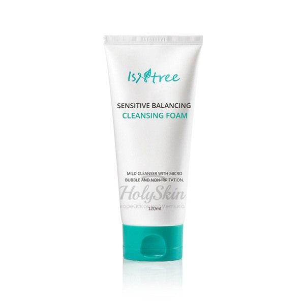 Купить Балансирующая пенка для чувствительной кожи IsNtree, Sensitive Balancing Foam, Южная Корея