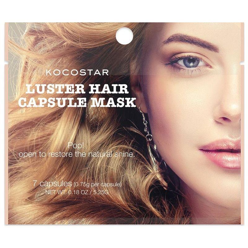 Инкапсулированная сыворотка для волос с аргановым маслом Kocostar Luster Hair Capsule Mask фото