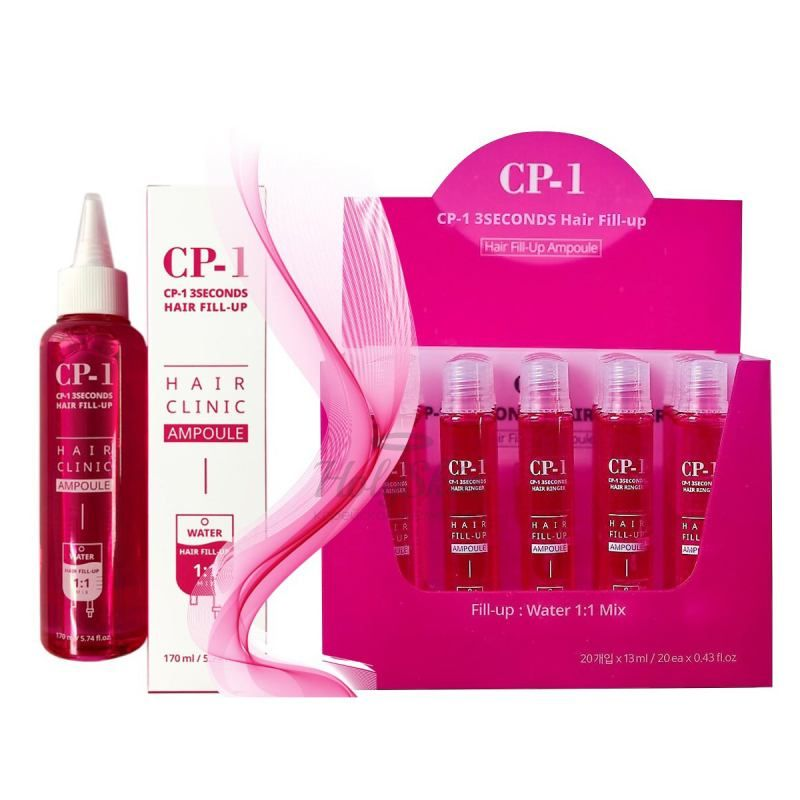 Филлер для волос ESTHETIC HOUSE CP-1 3 SEC HAIR RINGER HAIR FILL-UP AMPOULE FILLER