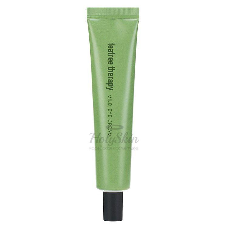 Купить Крем для глаз Eunyul, Tea Tree Therapy Mild Eye Cream, Южная Корея