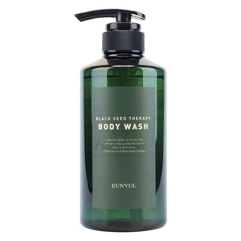 Купить Гель для душа с маслом черного тмина Eunyul, Black Seed Therapy Body Wash, Южная Корея