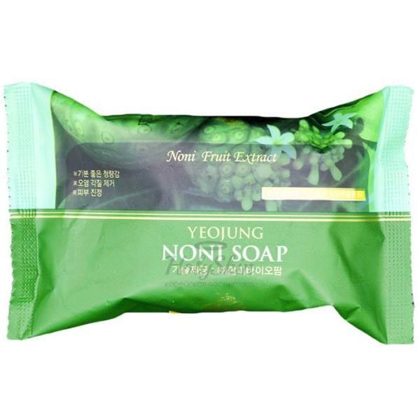 Отшелушивающее мыло Juno — Yeojung Noni Soap