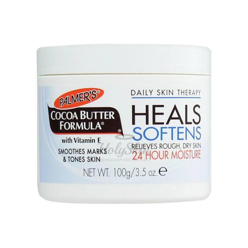 Купить Масло какао с витамином Е для глубокого увлажнения Palmer's, Palmer's Heals Softens Butter, США