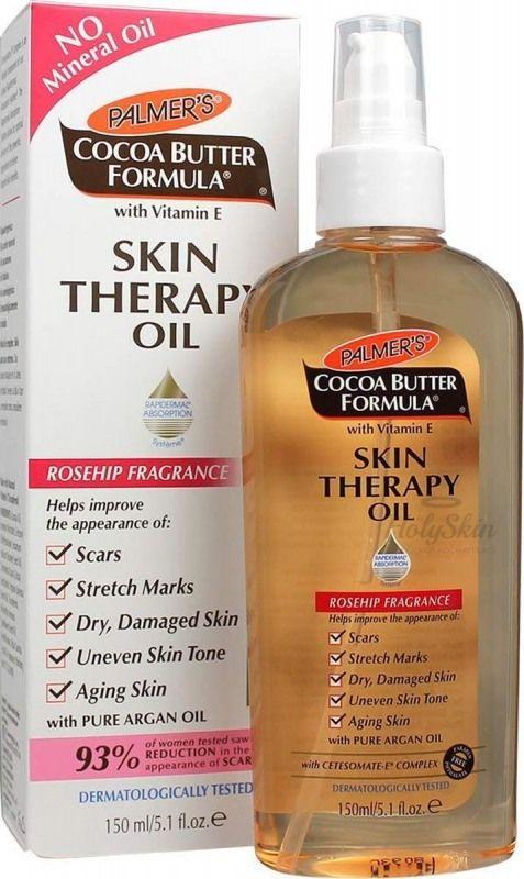 Купить Масло интенсивного действия против растяжек с какао Palmer's, Palmer's Skin Therapy Oil, США