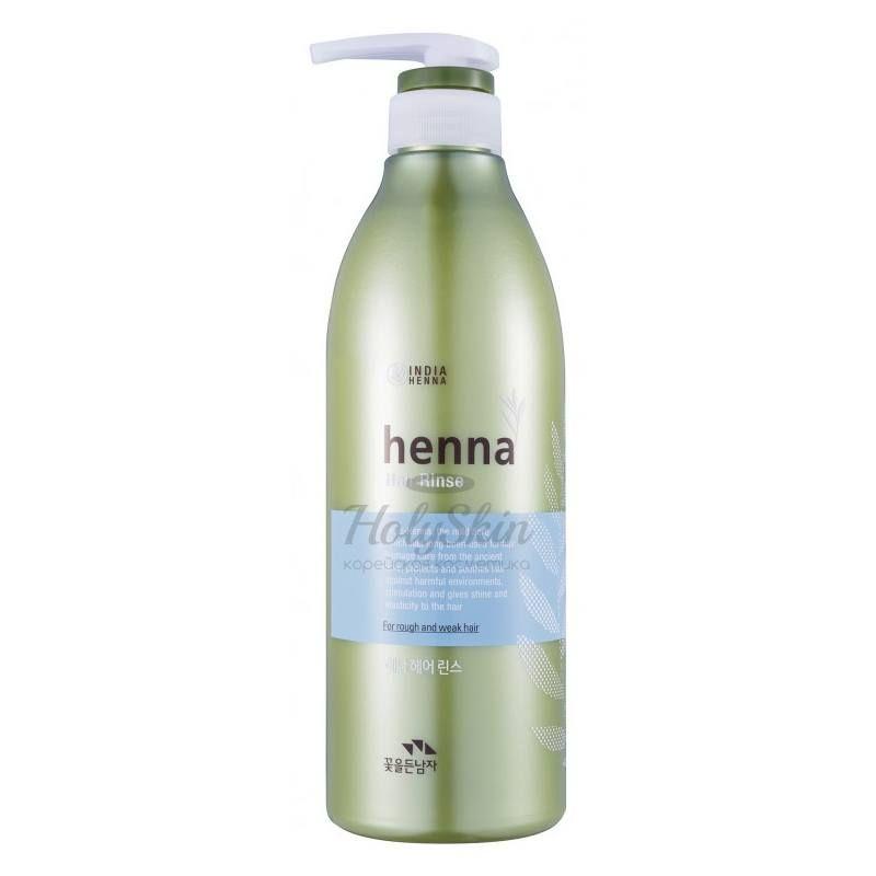 Увлажняющий ополаскиватель для волос Flor de Man — Henna Hair Rinse