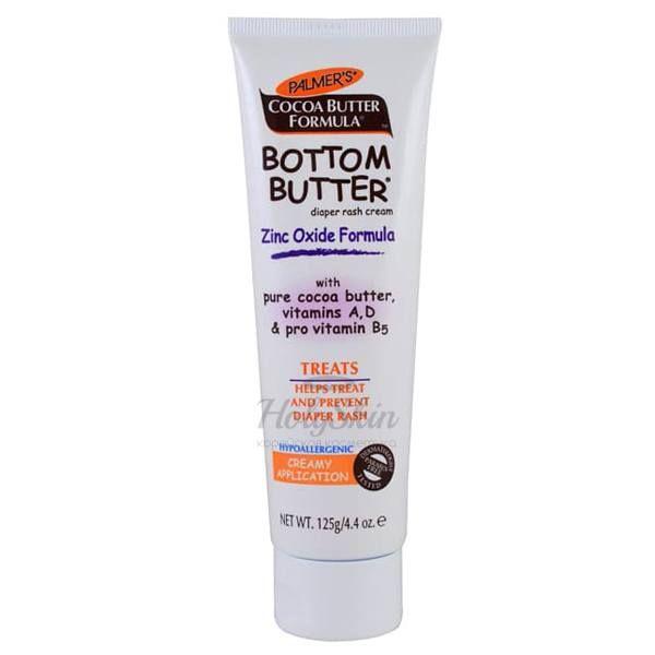Купить Детский крем против опрелостей Palmer's, Palmer's Bottom Butter Zinc Oxide Formula, США