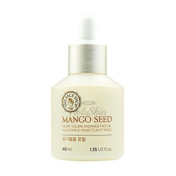 Купить Высококонцентрированное масло для лица The Face Shop, Mango Seed Heart Volume Radiance Face Oil, Южная Корея