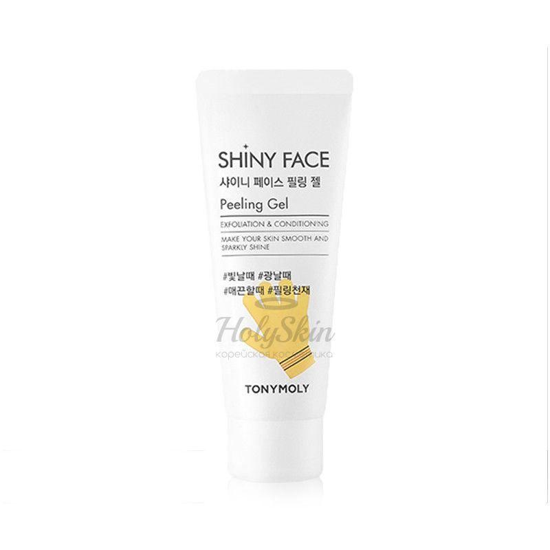 Купить Пилинг-скатка для лица Tony Moly, Shiny Face Peeling Gel, Южная Корея
