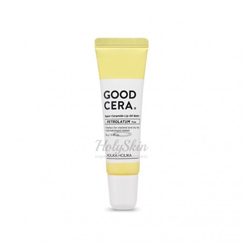 Купить Смягчающий бальзам для губ Holika Holika, Good Cera Super Ceramide Lip Oil Balm, Южная Корея