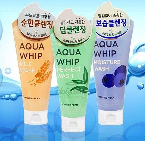 Пенка для умывания Scinic — Aqua Whip Cleansing Foam