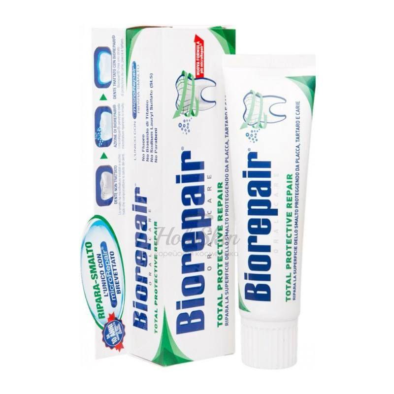 Зубная паста Biorepair — Biorepair Total Protection