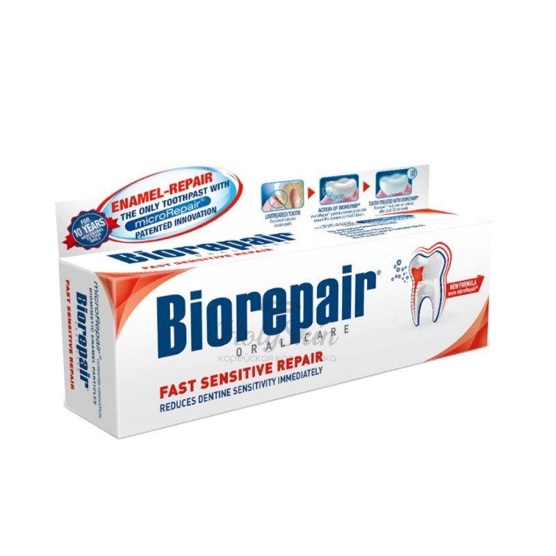Зубная паста для чувствительных зубов Biorepair — Biorepair Sensitive Teeth