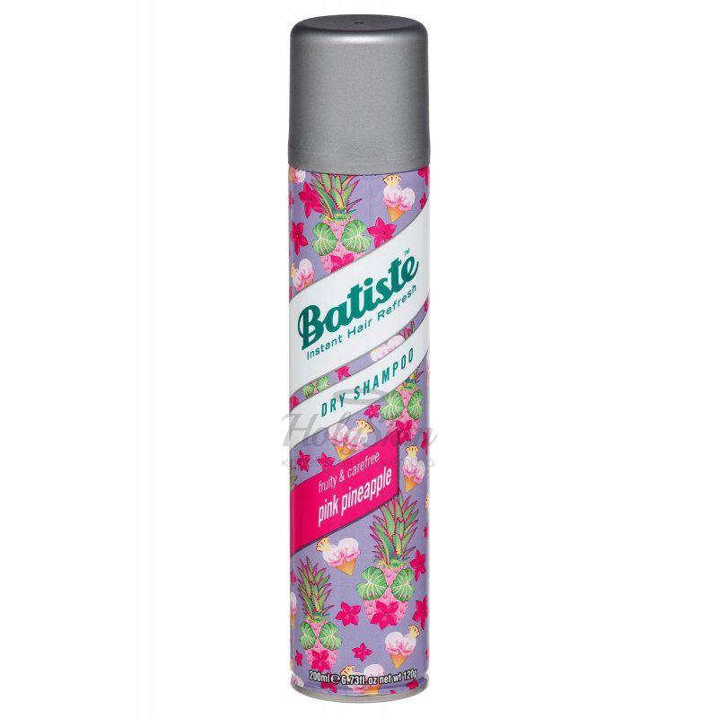Купить Сухой шампунь Batiste, Batiste Pink Pineapple Dry Shampoo, Великобритания
