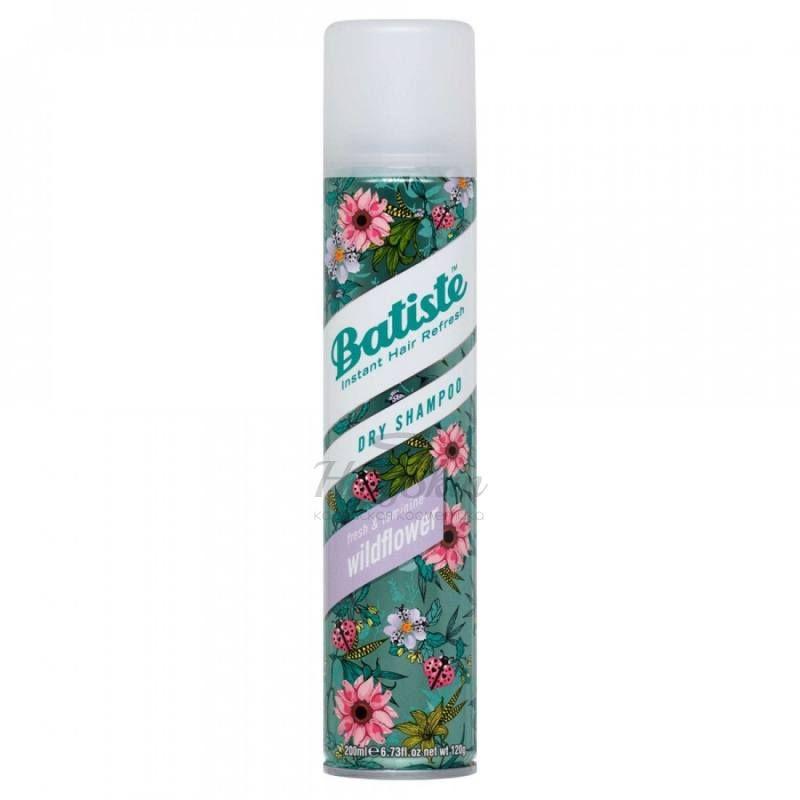 Купить Сухой шампунь с фруктовым ароматом Batiste, Batiste Wildflower Dry Shampoo, Великобритания