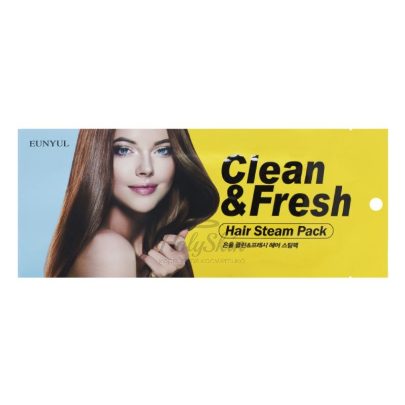 Маска-шапочка для волос Eunyul — Clean and Fresh Hair Steam Pack