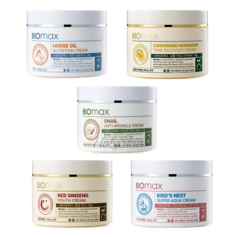 Купить Крем для лица с натуральными экстрактами Welcos, Biomax Cream, Южная Корея
