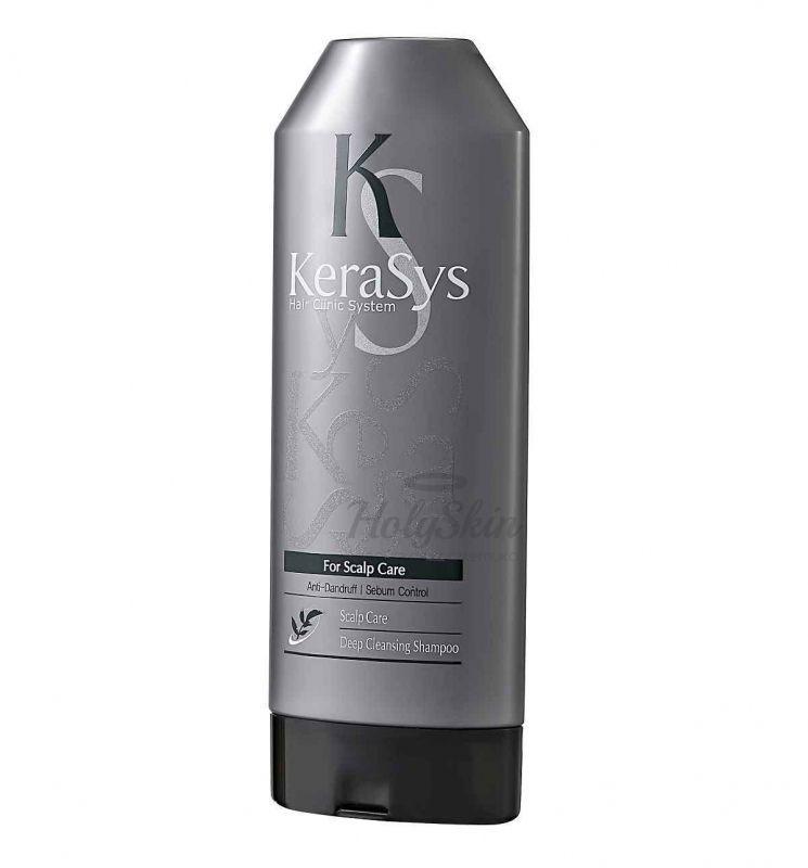 Купить Шампунь для лечения кожи головы Kerasys, Kerasys Deep Cleansing Shampoo 180ml, Южная Корея