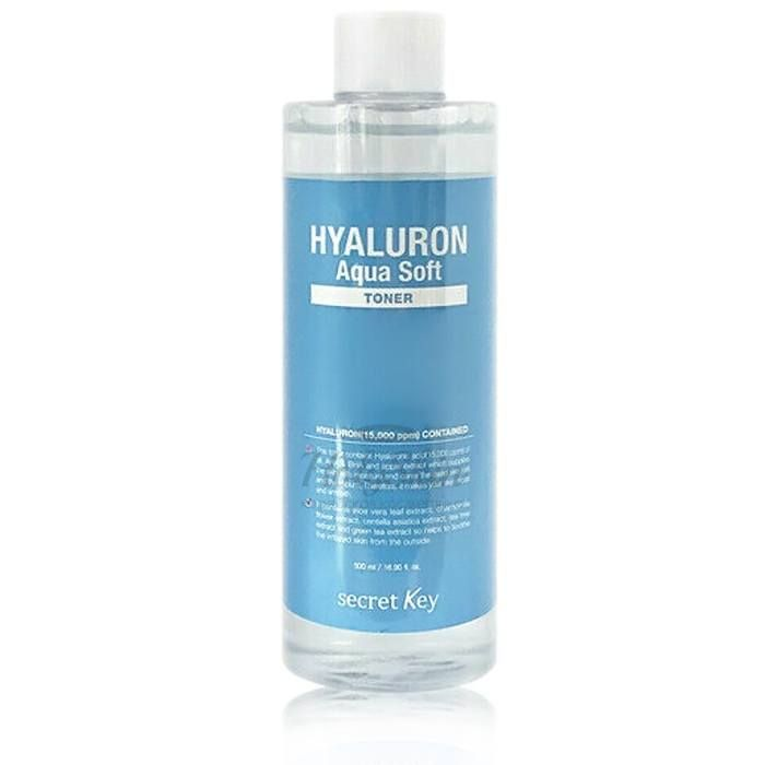 Гиалуроновый увлажняющий тонер Secret Key Hyaluron Aqua Soft Toner фото