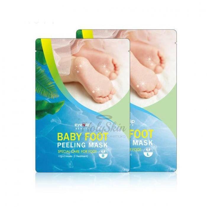 Купить Пилинг-маска для ног Eyenlip, Baby Foot Peeling Mask, Южная Корея