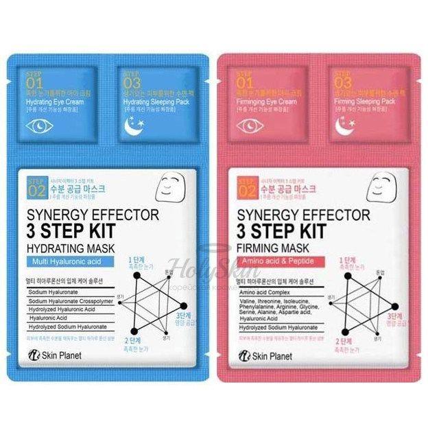 Трехшаговый комплекс для ухода за кожей Mijin Synergy Effector 3-Step Kit фото