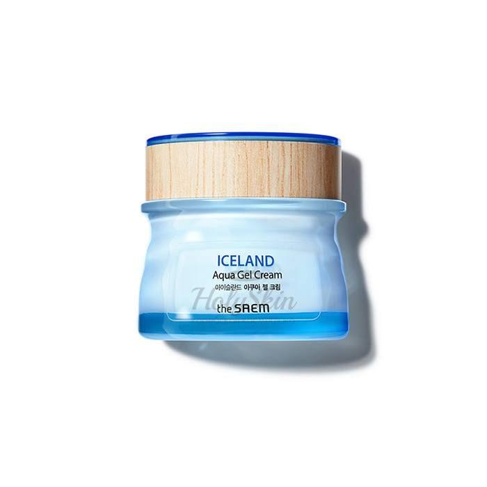 Купить Увлажняющий гель-крем с минеральной ледниковой водой The Saem, Iceland Aqua Gel Cream, Южная Корея