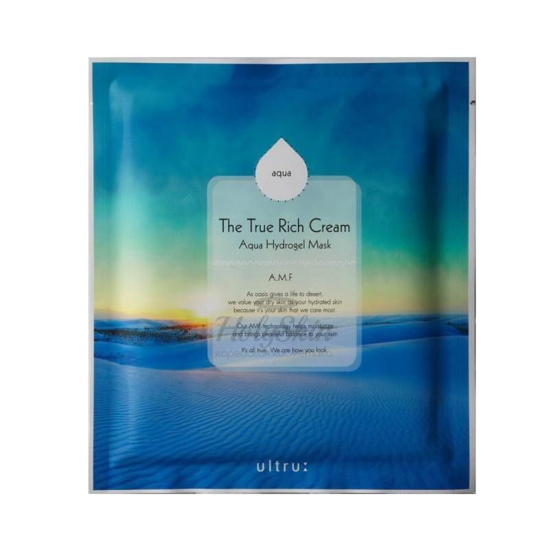 Купить Кремово-гидрогелевая увлажняющая маска I'm sorry for my skin, The True Rich Cream Aqua, Южная Корея