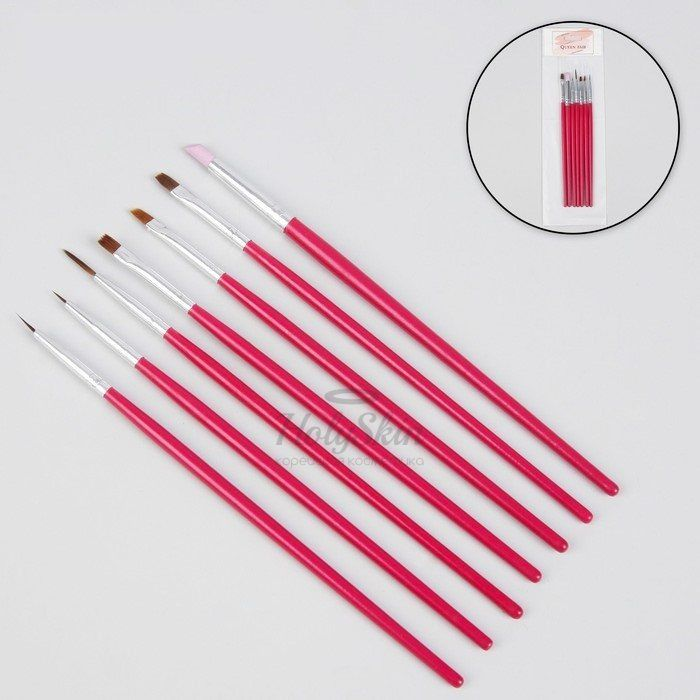 Купить Набор кистей для дизайна ногтей HS, HS Набор кистей для дизайна ногтей, Китай
