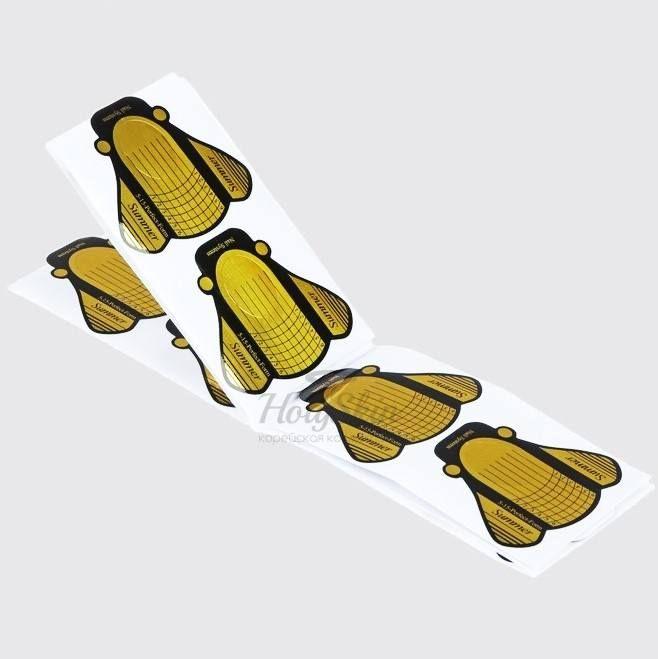 Купить Формы для ногтей Пчёлки HS, HS Формы для ногтей Пчёлки 20 шт (Золотистый), Китай