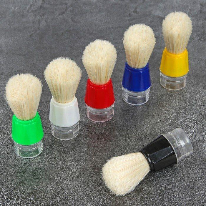 Купить Помазок для бритья пластиковый HS, HS Помазок для бритья пластиковый 1716586, Китай