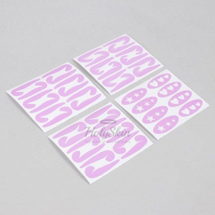 Купить Набор трафаретов для макияжа глаз HS, HS Набор трафаретов для макияжа глаз 4 вида, Китай