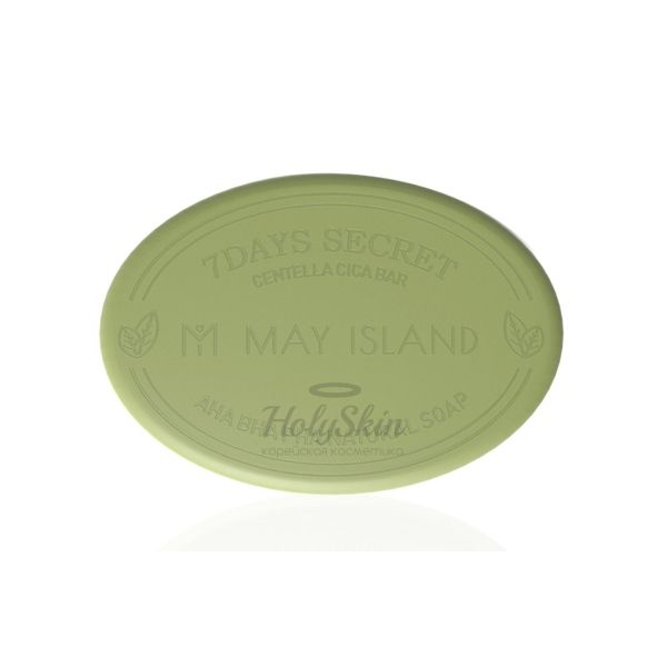 Купить Мыло для проблемной кожи с центеллой МayIsland, 7Days Secret Centella Cica Pore Cleansing Bar, Южная Корея
